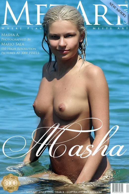 Masha A - `Presenting Masha` - by Mario Sala for METART