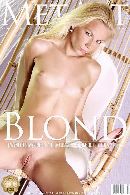Gwyneth A - `Blond` - by Luca Helios for METART