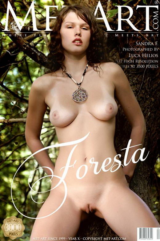 Sandra F - `Foresta` - by Luca Helios for METART