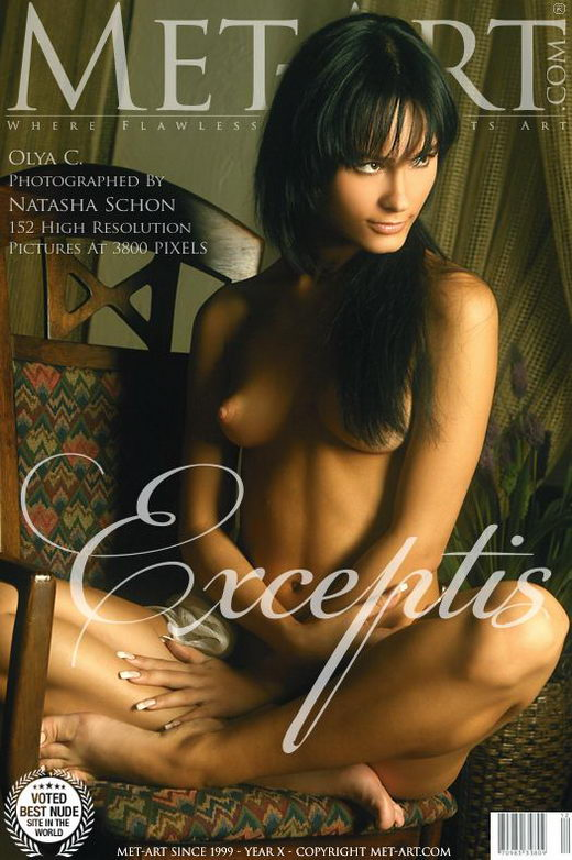 Olya C - `Exceptis` - by Natasha Schon for METART