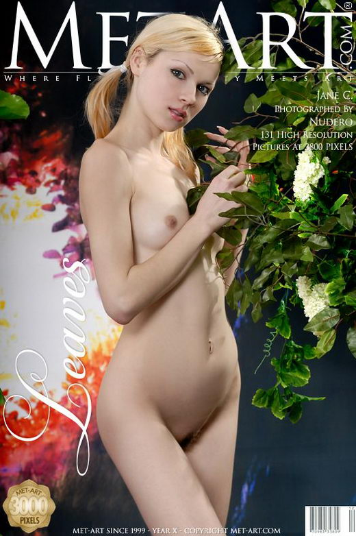 Jane C - `Leaves` - by Nudero for METART