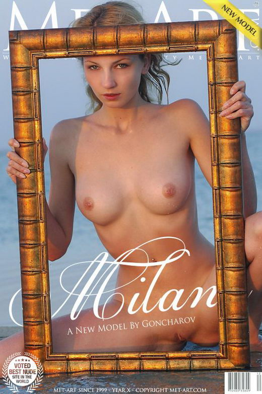 Milana B - `Presenting Milana` - by Goncharov for METART