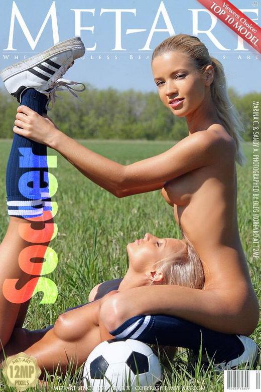 Sandy A & Marina C - `Soccer` - by Oleg Morenko for METART