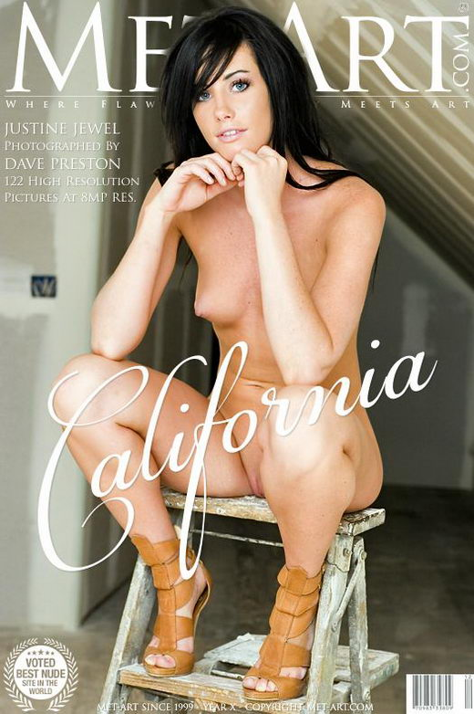 Justine Jewel - `California` - by Dave Preston for METART
