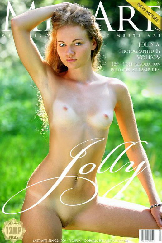 Jolly A - `Presenting Jolly` - by Volkov for METART