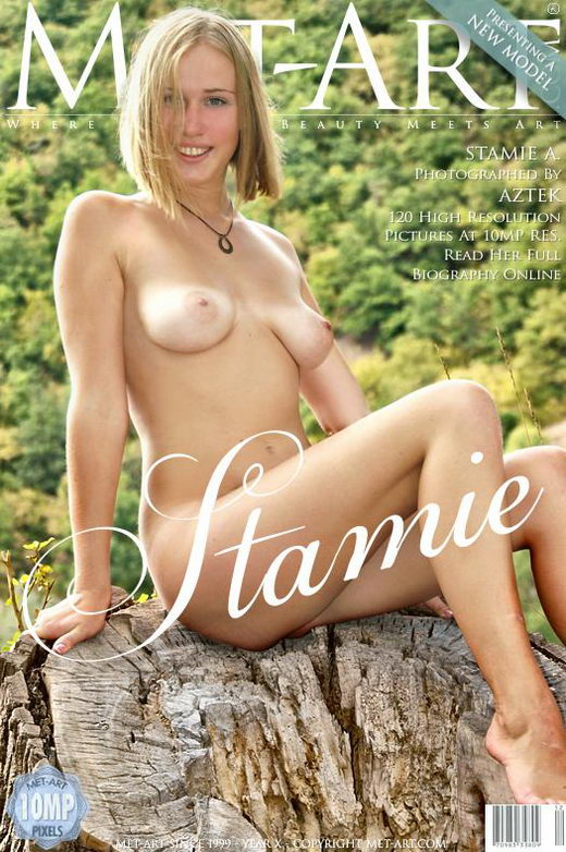 Stamie A - `Presenting Stamie` - by Aztek for METART