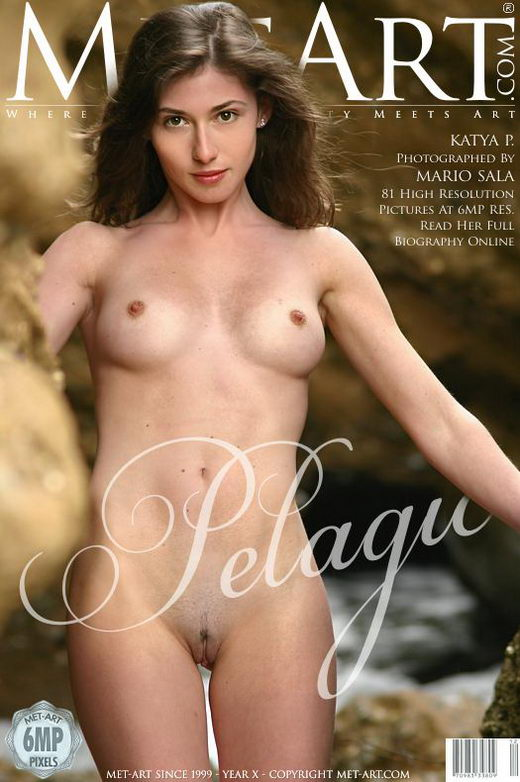 Katya P - `Pelagus` - by Mario Sala for METART