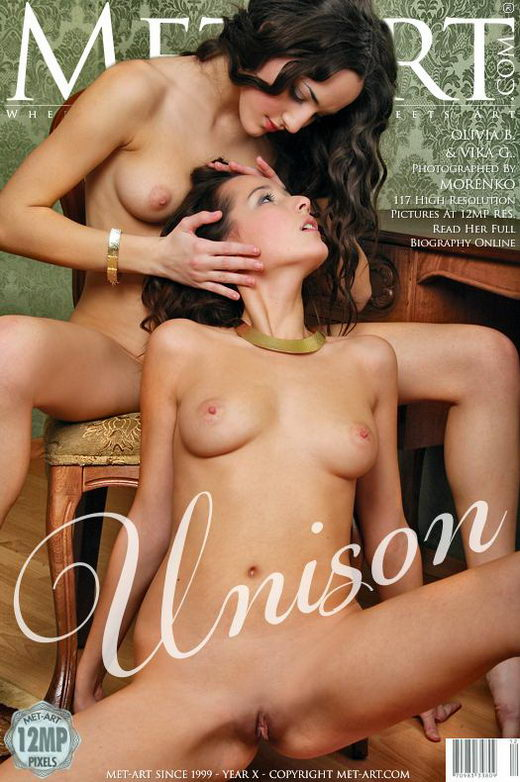 Olivia B & Vika G - `Unison` - by Oleg Morenko for METART