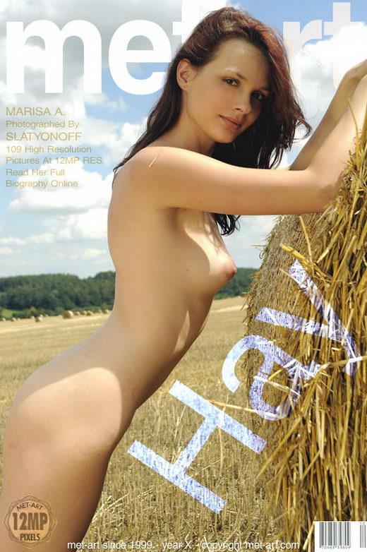 Marisa A - `Hay` - by Slastyonoff for METART