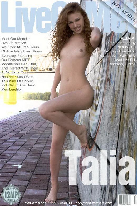 Talia A - `Presenting Talia` - by Nikonoff for METART