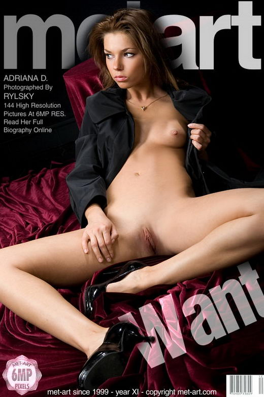 Adriana D - `Want` - by Rylsky for METART