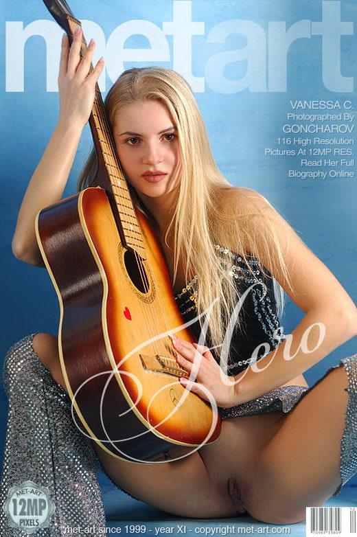 Vanessa C - `Hero` - by Goncharov for METART