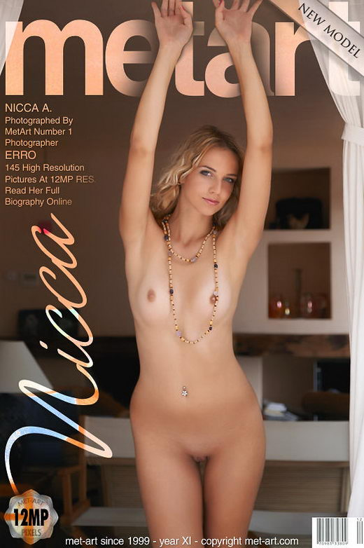 Nicca A - `Presenting Nicca` - by Erro for METART