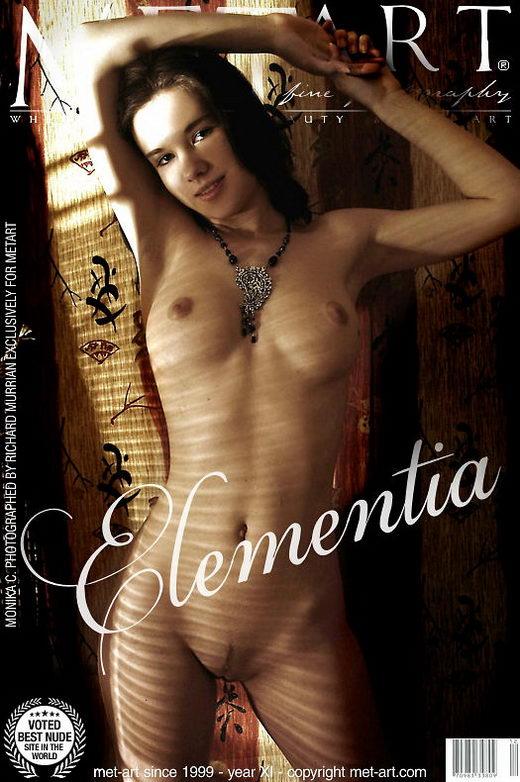 Monika C - `Elementia` - by Richard Murrian for METART