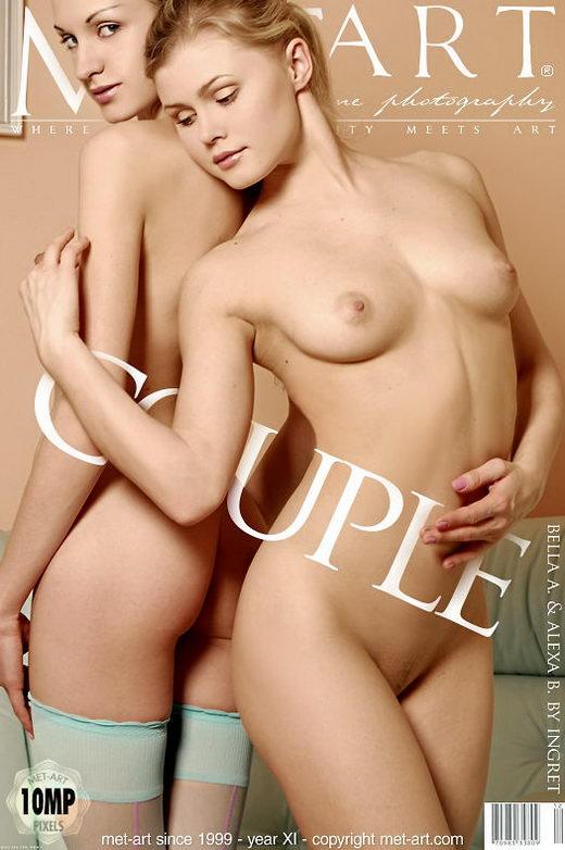 Bella A & Alexa B - `Couple` - by Ingret for METART