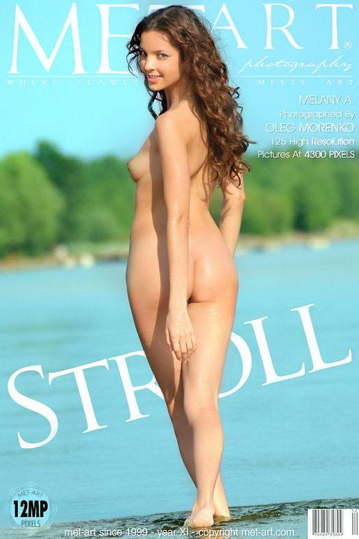 Melany A - `Stroll` - by Oleg Morenko for METART