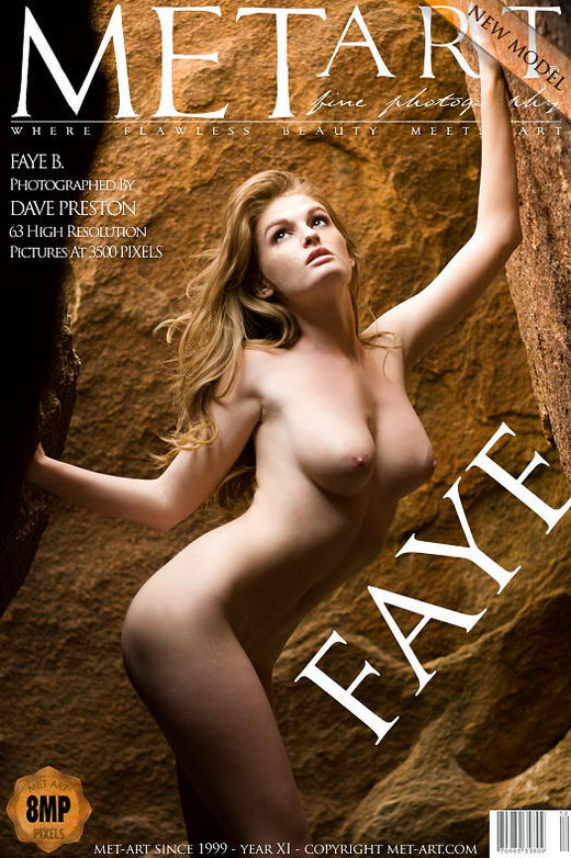 Faye B - `Presenting Faye` - by Dave Preston for METART