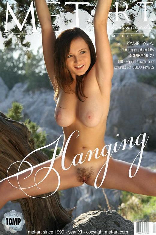 Kameliya A - `Hanging` - by Gribanov for METART