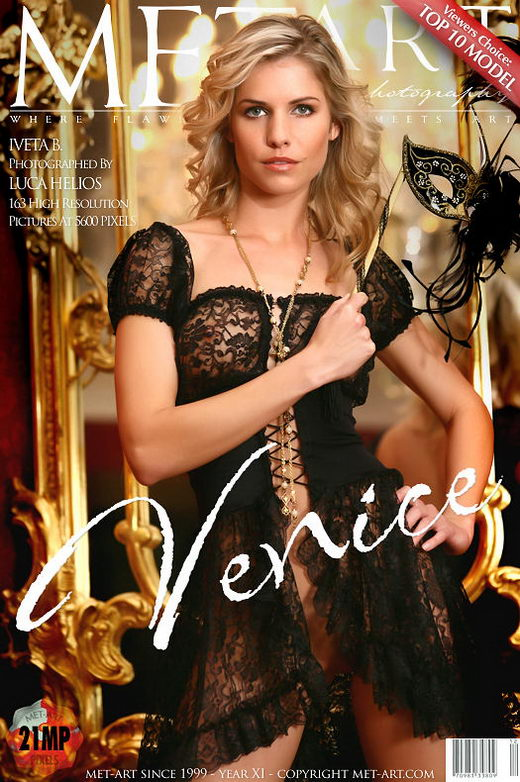 Iveta B - `Venice` - by Luca Helios for METART