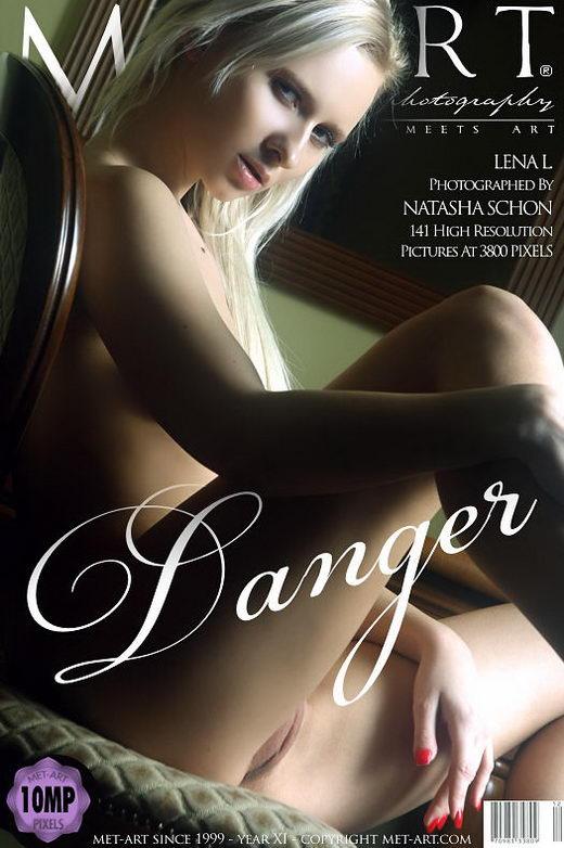 Lena L - `Danger` - by Natasha Schon for METART