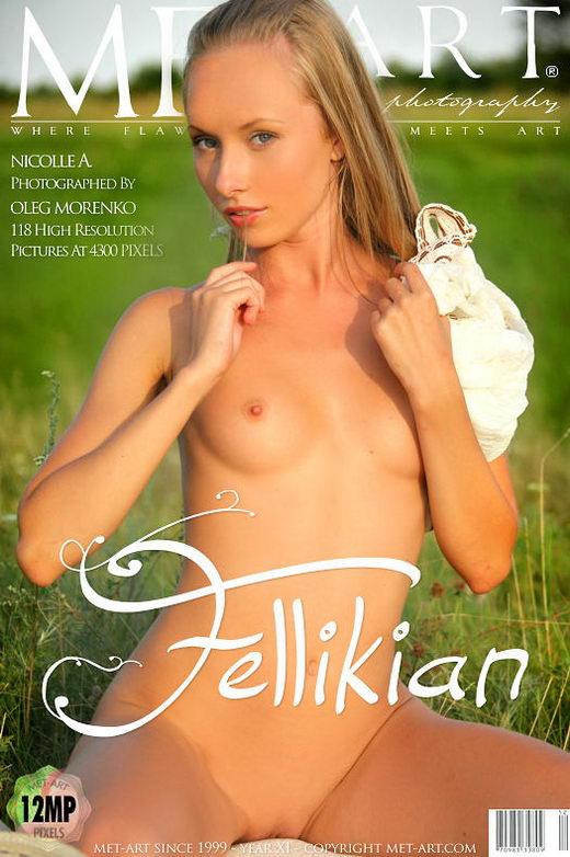 Nicolle A in Fellikian gallery from METART by Oleg Morenko