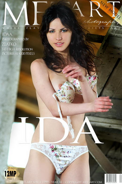 Ida A - `Presenting Ida` - by Zlatko for METART