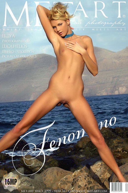 Lilly A - `Fenomeno` - by Luca Helios for METART