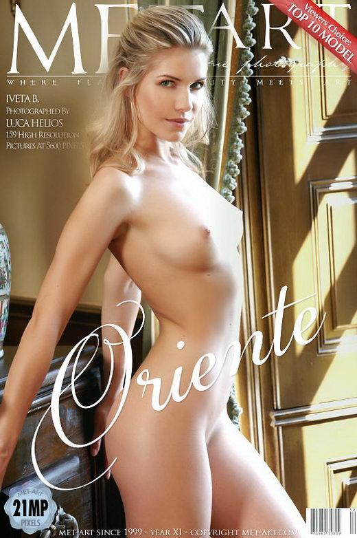 Iveta B - `Oriente` - by Luca Helios for METART