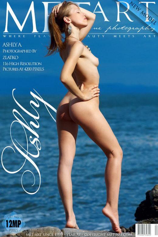 Ashly A - `Presenting Ashly` - by Zlatko for METART