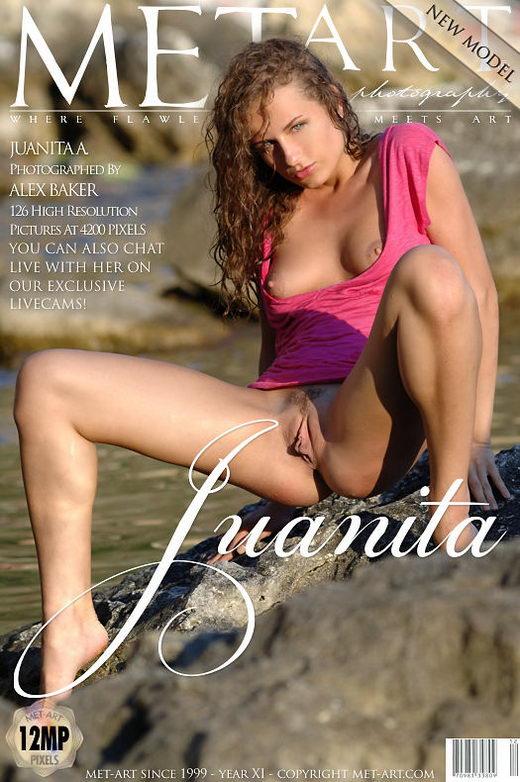 Juanita A - `Presenting Juanita` - by Alex Baker for METART
