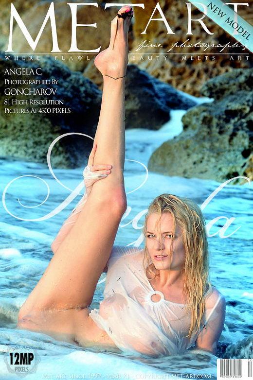 Angela C - `Presenting Angela` - by Goncharov for METART
