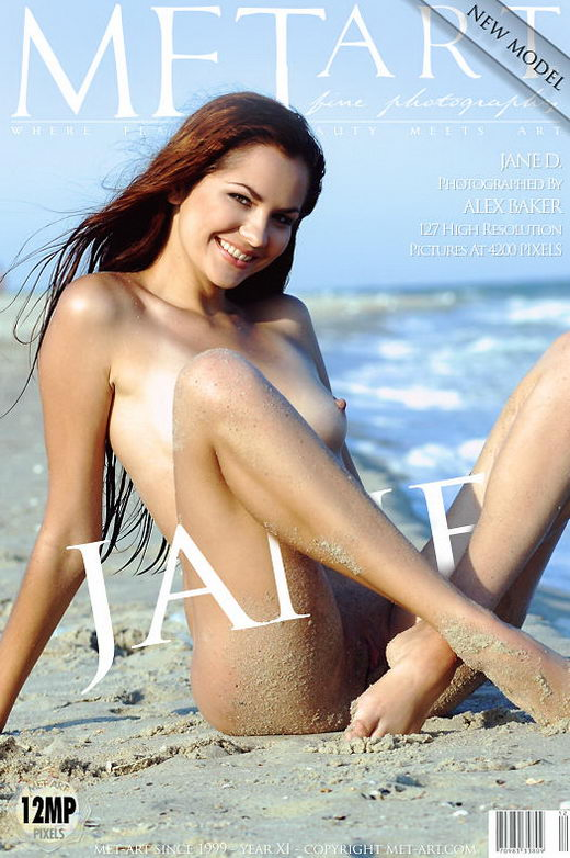 Jane D - `Presenting Jane` - by Alex Baker for METART