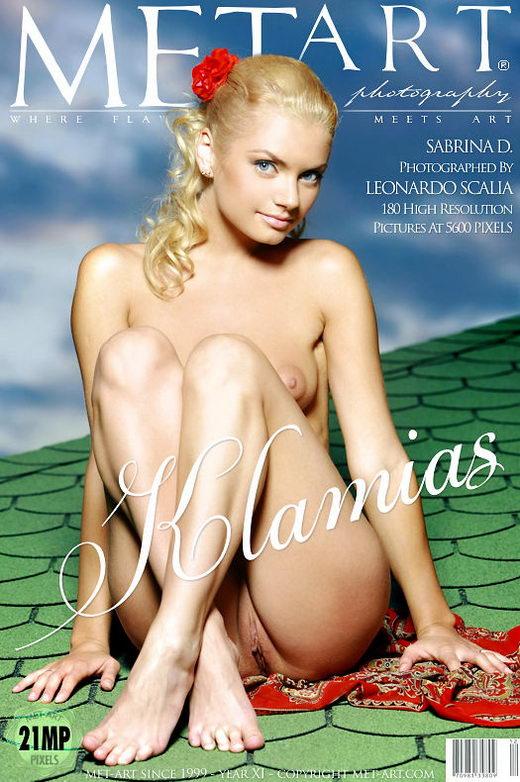 Sabrina D - `Klamias` - by Leonardo Scalia for METART