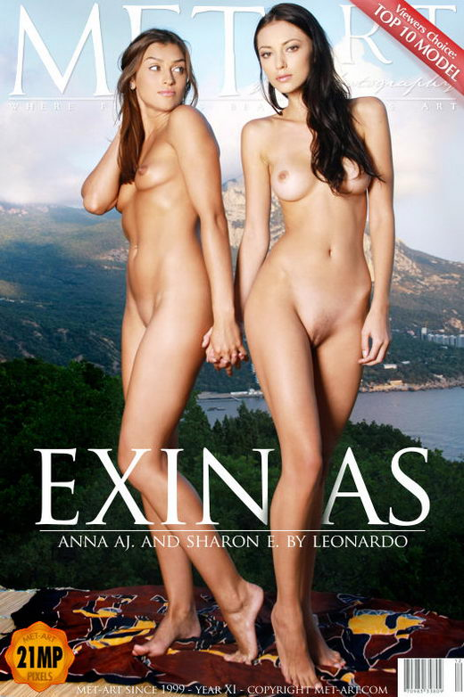 Sharon E & Anna Aj - `Exinias` - by Voronin for METART