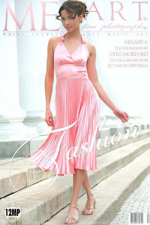 Melany A - `Fashion` - by Oleg Morenko for METART