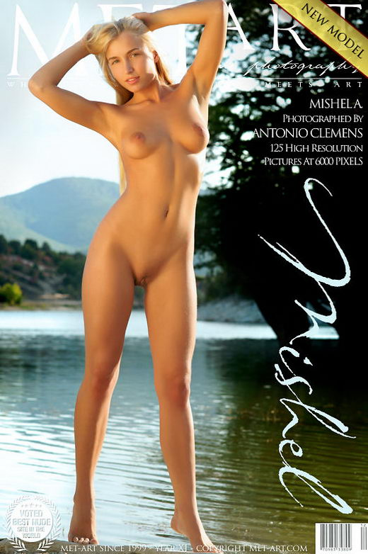 Mishel A - `Presenting Mishel` - by Antonio Clemens for METART