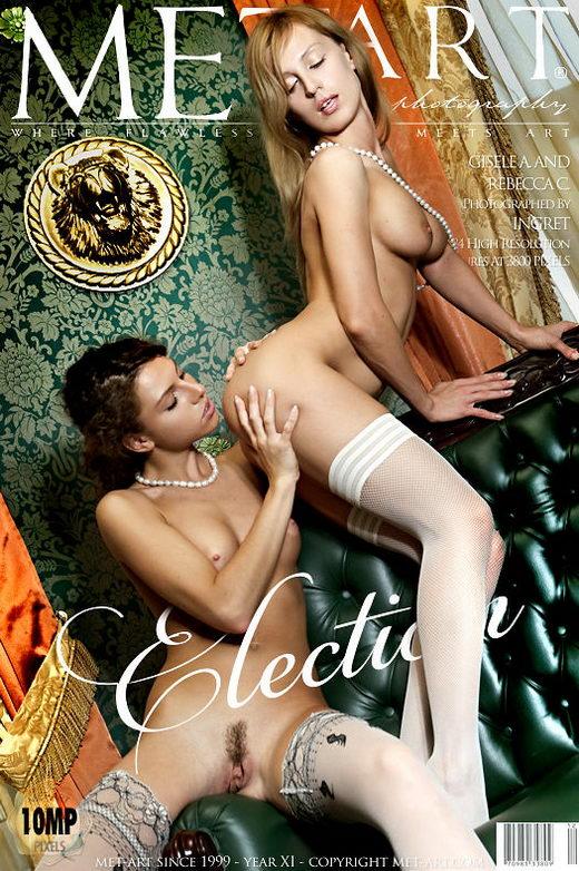 Rebecca C & Gisele A - `Election` - by Ingret for METART