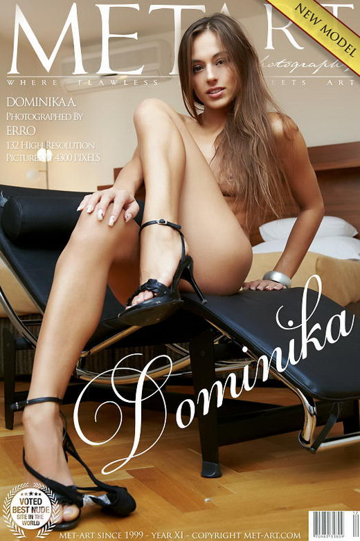 Dominika A - `Presenting Dominika` - by Erro for METART