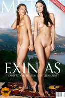 Sharon E & Anna Aj in Exinias gallery from METART by Voronin