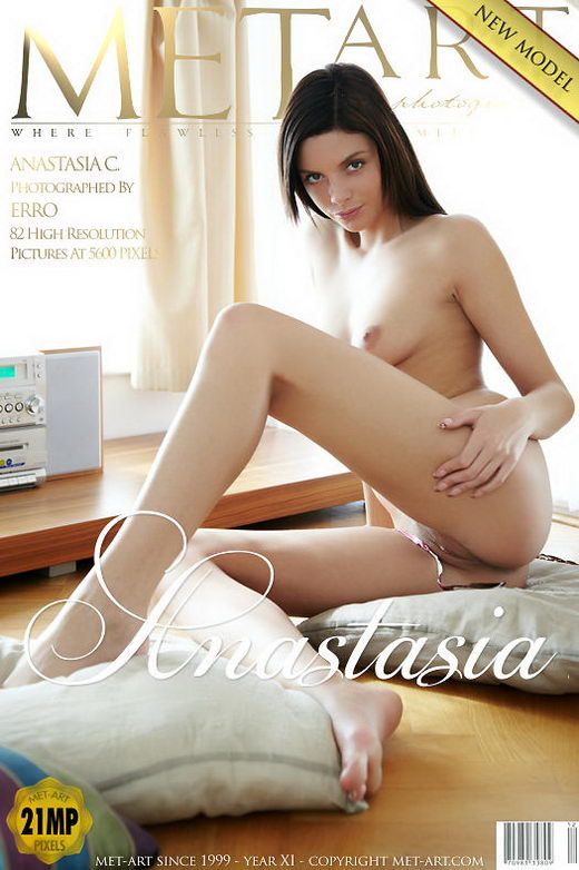 Anastasia C - `Presenting Anastasia` - by Erro for METART