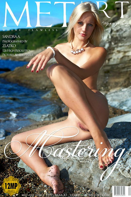 Sandra A - `Mastering` - by Zlatko for METART