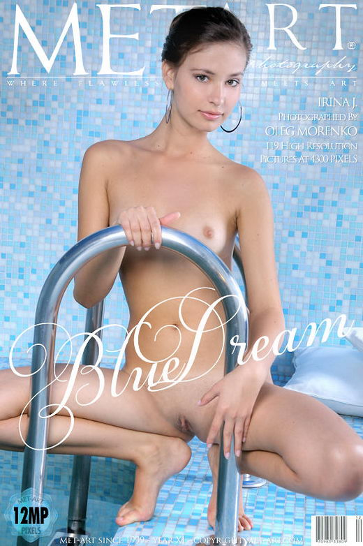 Irina J - `Blue Dream` - by Oleg Morenko for METART