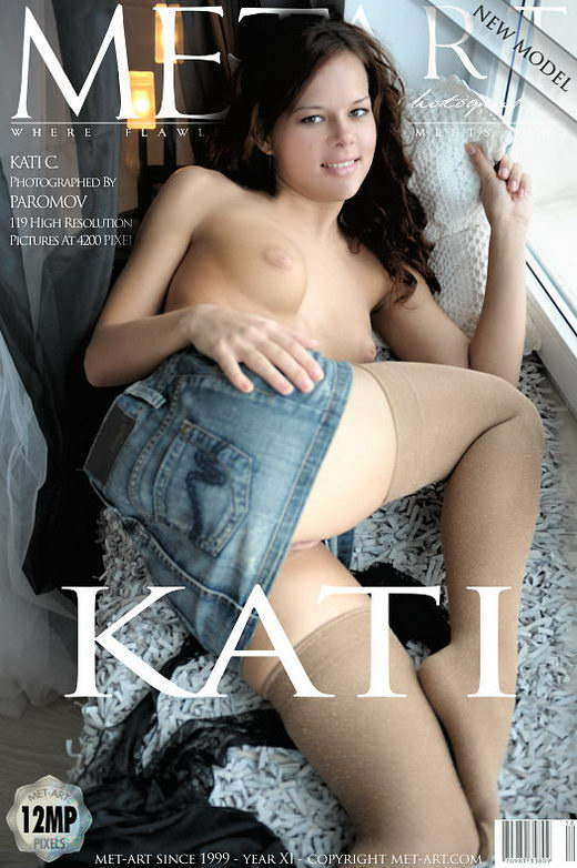 Kati C - `Presenting Kati` - by Paromov for METART
