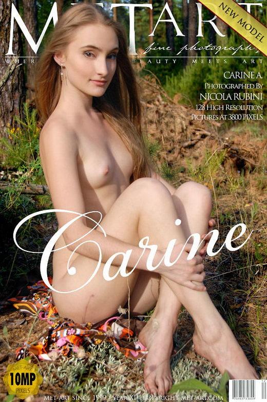 Carine A - `Presenting Carine` - by Nicola Rubini for METART