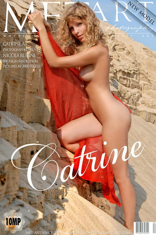 Catrine A - `Presenting Catrine` - by Nicola Rubini for METART