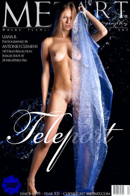 Liana B - `Teleport` - by Antonio Clemens for METART