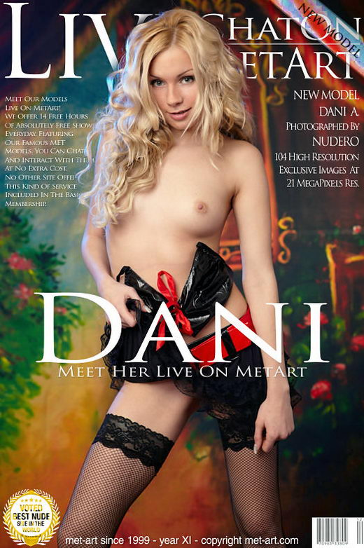 Dani A - `Dani Live On Metart` - by Nudero for METART