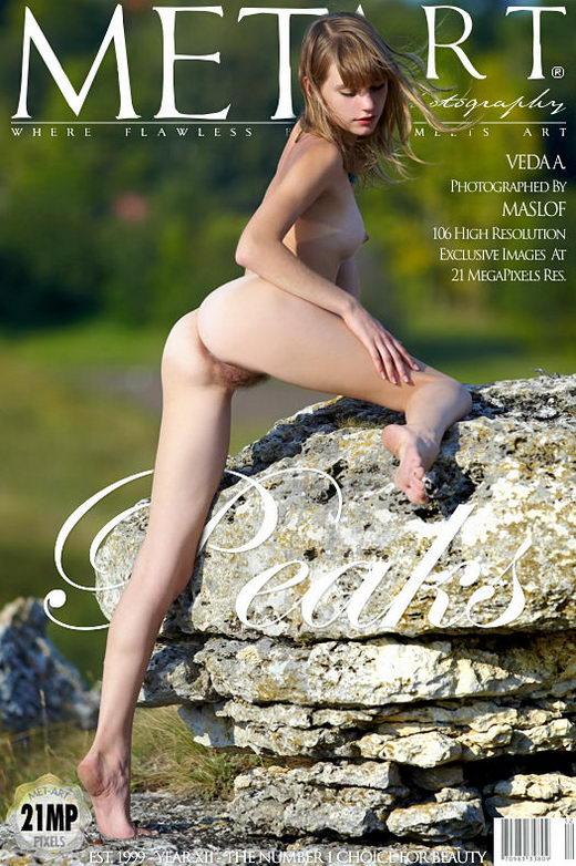 Veda A - `Peaks` - by Dmitry Maslof for METART