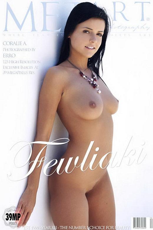 Coralie A - `Fewliaki` - by Erro for METART