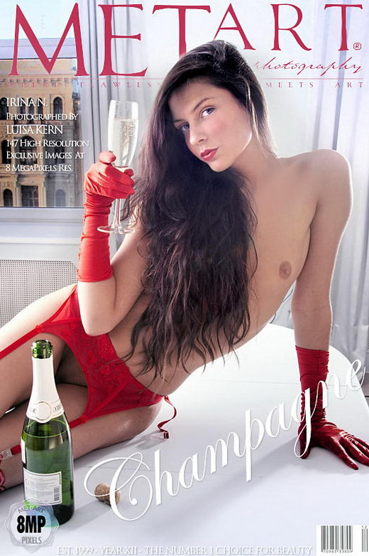 Irina N - `Champagne` - by Luisa Kern for METART